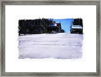 Bullitt Framed Print