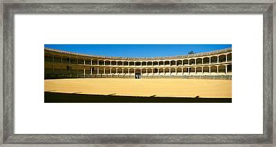 Bullring, Plaza De Toros, Ronda Framed Print by Panoramic Images