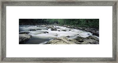 Bulls Bridge, Housatonic River Framed Print by Panoramic Images