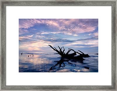 Bulls Island Sunrise Framed Print by Kate Silvia