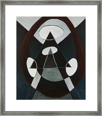 Bullseye Framed Print by David Douthat