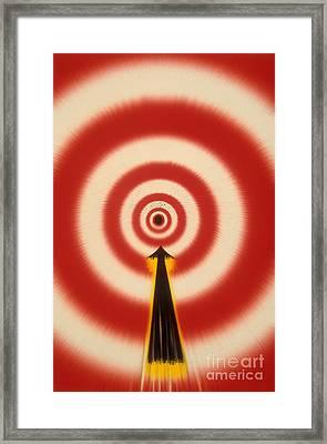 Bullseye Framed Print by Novastock