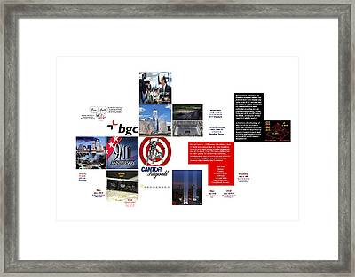 Regular Pogroming Framed Print