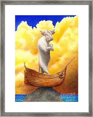 Bullship... Framed Print by Will Bullas