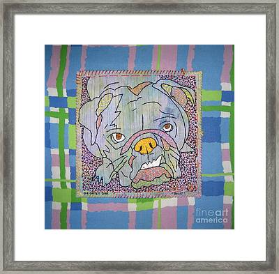 Bully Framed Print by Susan Sorrell