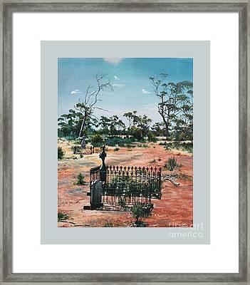Bulong-w.a- Framed Print by Caroline Beaumont