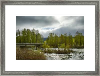 Bumblebee Bridge Framed Print by Idaho Scenic Images Linda Lantzy