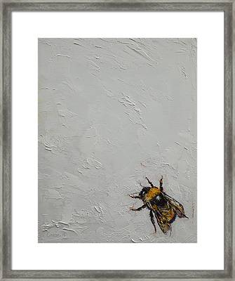 Bumblebee Framed Print by Michael Creese