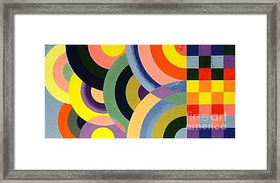 Bump Up Framed Print by Hang Ho