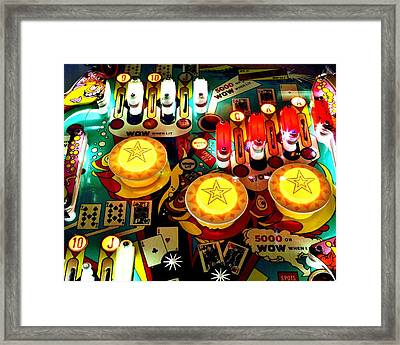 Bumping Framed Print by Benjamin Yeager