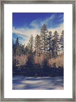 Bundle Up Framed Print by Laurie Search