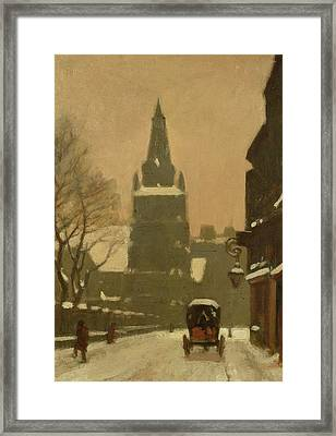 Bunhill Row Framed Print