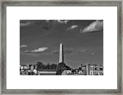 Bunker Hill Monument 4 Framed Print by Joann Vitali
