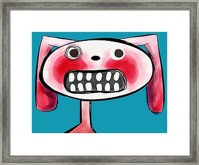 Bunnibuns Framed Print by Kelly Jade King