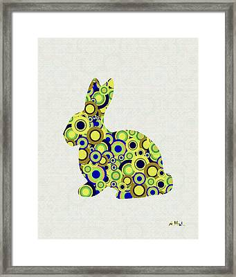 Bunny - Animal Art Framed Print