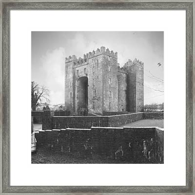 Bunratty Castle - Ireland Framed Print by Mike McGlothlen