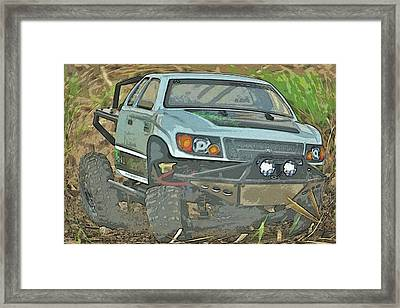 Bunt Framed Print
