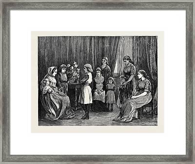 Bunyans Pilgrims Progress At Grosvenor House Framed Print
