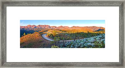 Bunyeroo Valley Framed Print by Bill  Robinson