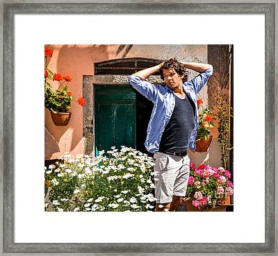 Buon Giorno Framed Print by Amy Fearn