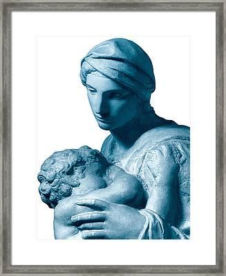 Buonarroti Michelangelo, Medici Framed Print by Everett