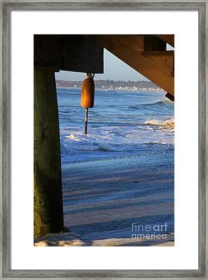 Buoy 1 Framed Print by Michael Mooney