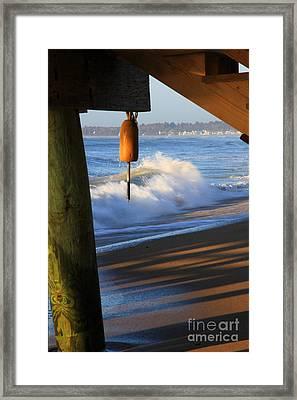 Buoy 2 Framed Print by Michael Mooney