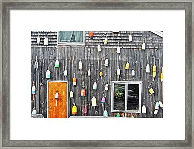Buoy Wall Framed Print