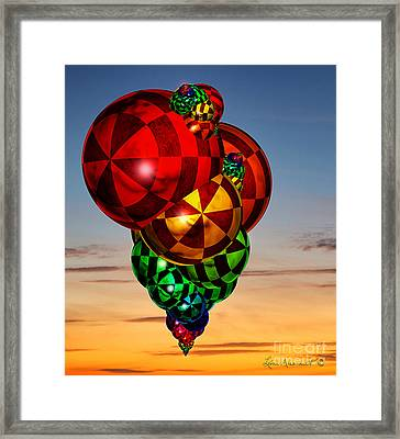 Buoyant Framed Print by Leona Arsenault