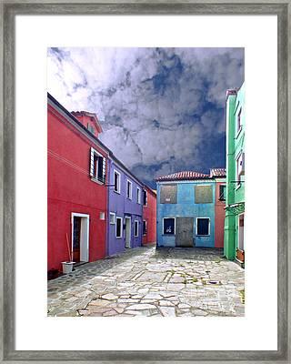 Burano 09 Framed Print by Giorgio Darrigo