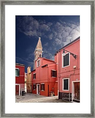 Burano 10 Framed Print by Giorgio Darrigo