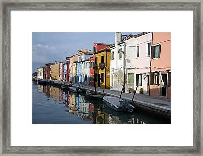 Burano Italy Framed Print by John Jacquemain
