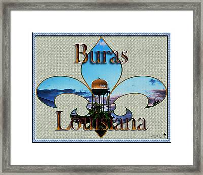Buras Louisiana Framed Print