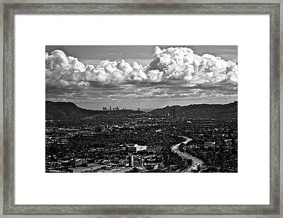 Burbank Framed Print by Amber Abbott