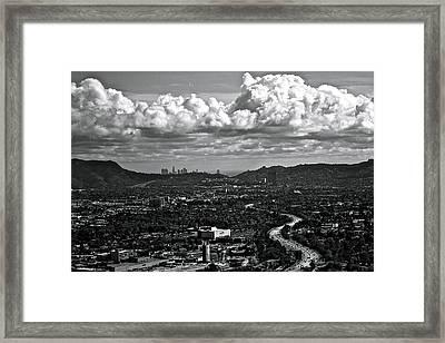 Burbank Framed Print by Amber Abbott