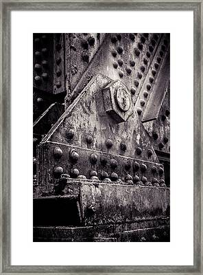 Burden Bearing Framed Print