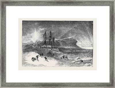 Burfords Panorama Of The Polar Regions Framed Print by English School