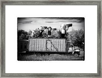 Burger Family Framed Print
