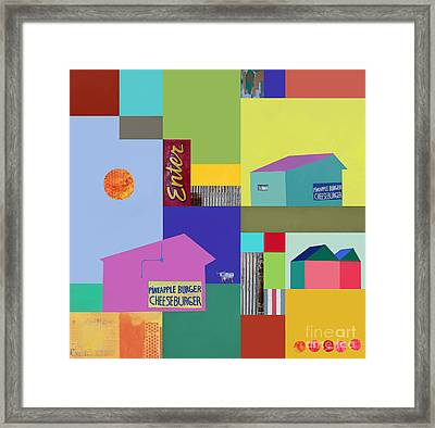 Burger Joint #3 Framed Print by Elena Nosyreva