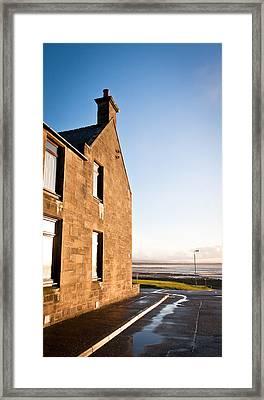 Burghead Framed Print by Tom Gowanlock