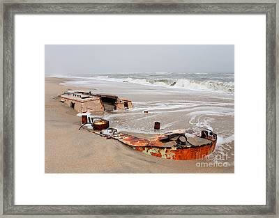 Buried Treasure On The Outer Banks I Framed Print by Dan Carmichael