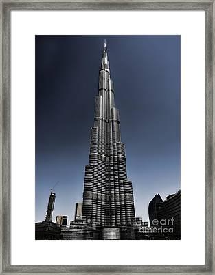 Burj Khalifa 3 Framed Print by Graham Taylor