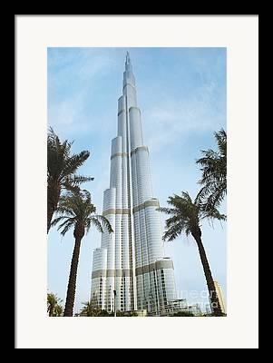 Arabian Gulf Framed Prints