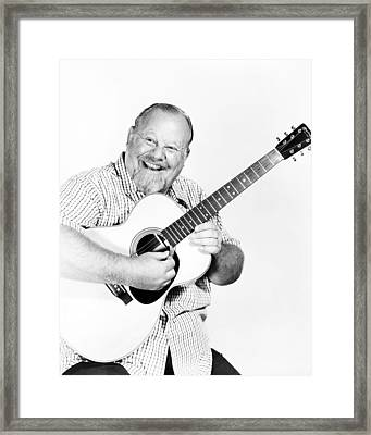 Burl Ives Framed Print by Silver Screen