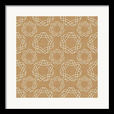 Geometric Design Framed Prints