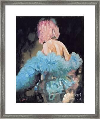 Burlesque I Framed Print by John Silver