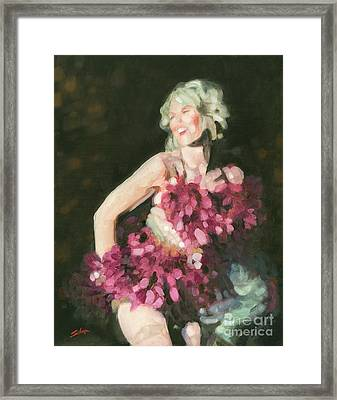 Burlesque II Framed Print by John Silver