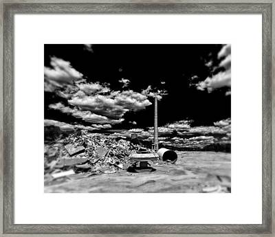 Burlington Klopman Remains Framed Print by Alan Raasch