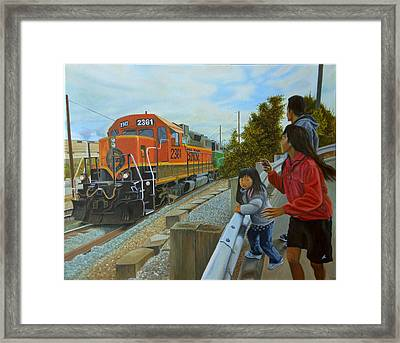 Burlington Northern Santa Fe Framed Print