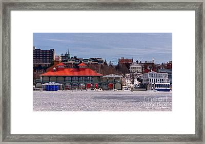 Burlington Vermont Framed Print